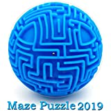 Puzzles Toys Mini 3D Maze Ball with Magic Gravity Memory Sequential Game for Kids Adults,Hard Challenges Brain Teasers Puzzles Gifts