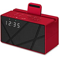 iLive iCB284R Bluetooth FM Clock Radio