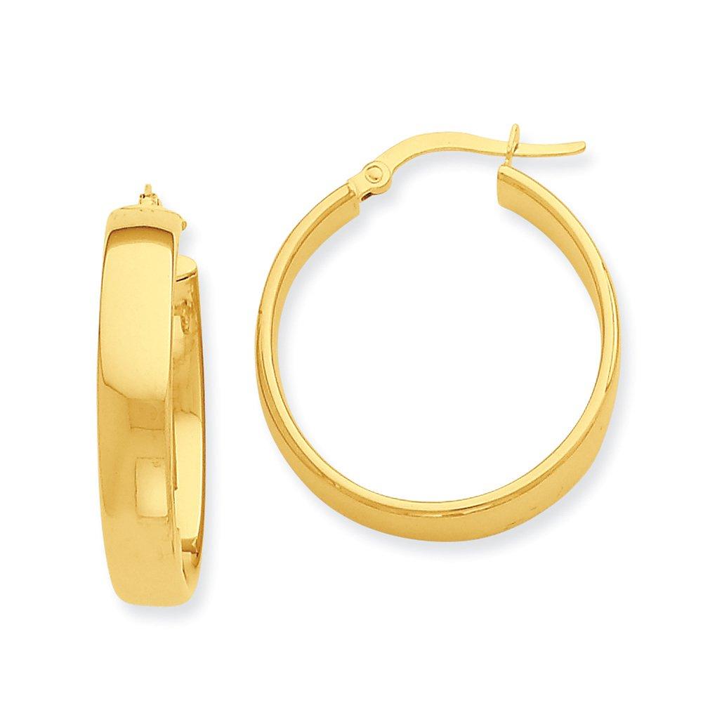 14k Yellow Gold Hoop Earrings PRE680