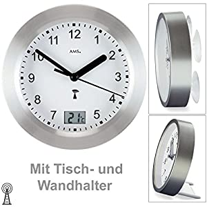AMS Uhrenfabrik F5923 Reloj, vidrio, Plateado 9
