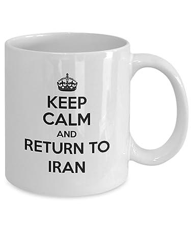 Amazon IRAN Coffee Mug