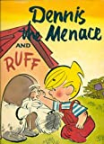 Dennis The Menace And Ruff  Large Size Golden Press Edition