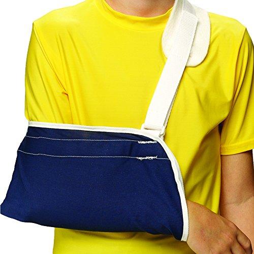 OTC KidsLine Arm Sling, Shoulder Cradle Style Support, Navy, Youth