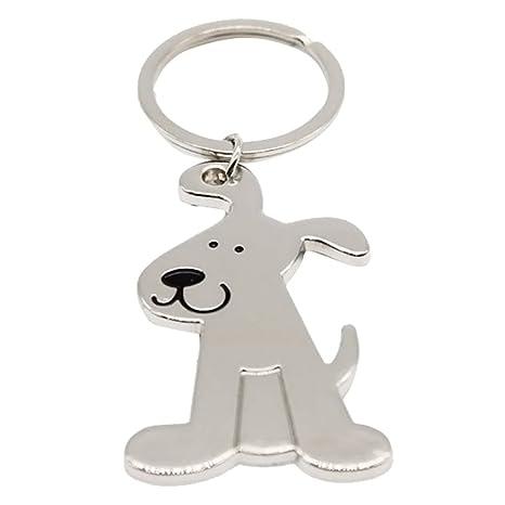 Llavero de metal Beauty*Top*Picks, forma de perro: Amazon.es ...