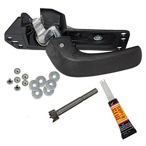 Chevrolet Gmc Truck Door (Passengers Inside Interior Door Handle Lever Repair Kit for Chevrolet GMC Pickup Truck 15936893)