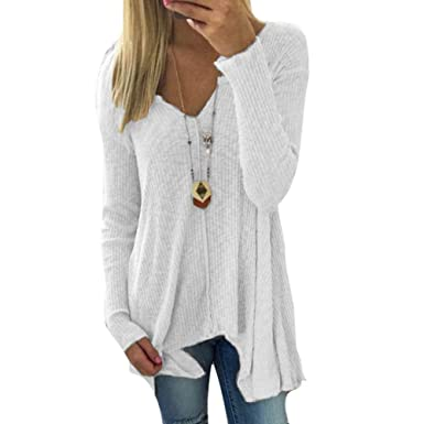 0240450cb3b Battercake Pull À Manches Longues Pull Femmes Pull Tricoté Molleton Pull  Fuerwen en Casual Dame Pull