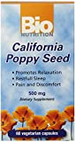 Cheap Bio Nutrition California Poppy Vegi-Caps (2-Pack of 60)