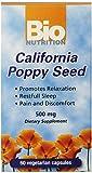 Cheap Bio Nutrition California Poppy Vegi-Caps (2-Pack of 60)