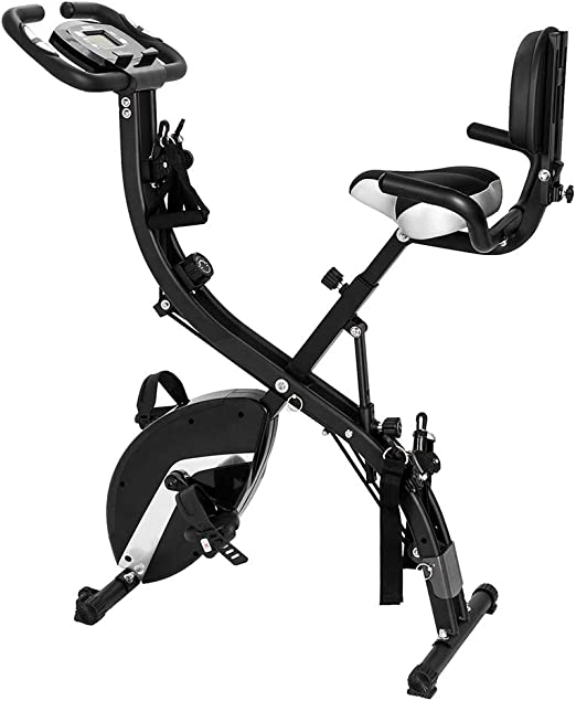 NEW 3-in-1 Folding Upright Bike for Indoor Exercise