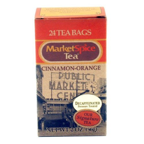 MarketSpice Decaf Teabags, box of 24