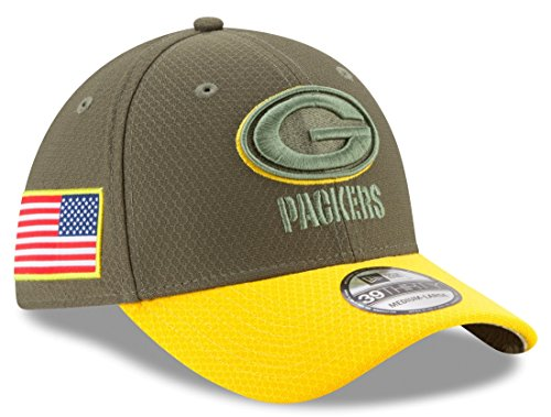 Green Bay Packers New Era NFL 39THIRTY 2017 Sideline