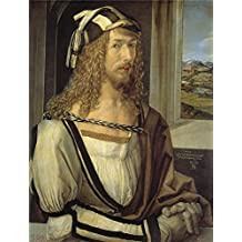 Oil Painting 'Durer Albrecht Self Portrait 1498 ' Printing On High Quality Polyster Canvas , 18 X 24 Inch / 46 X 60 Cm ,the Best Hallway Decor And Home Gallery Art And Gifts Is This High Quality Art Decorative Prints On Canvas