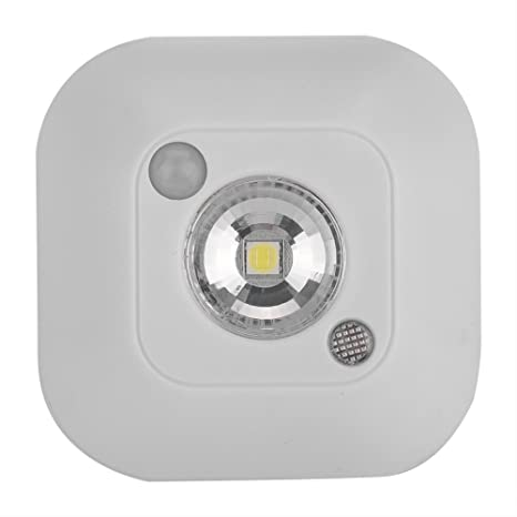LED Sensor de movimiento Night Light, Mini Wireless Sensor de movimiento por infrarrojos Control de
