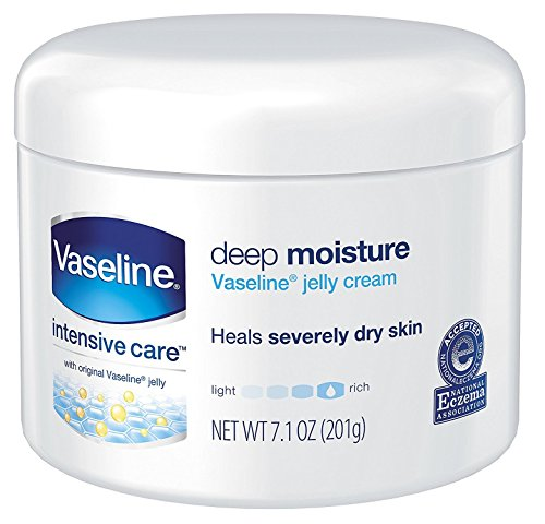 Vaseline Intensive Care Deep Moisture Jelly Cream 7.10 oz (Pack of 6)