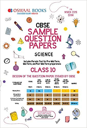 Oswaal CBSE Sample Question Paper Class 10 Science For March