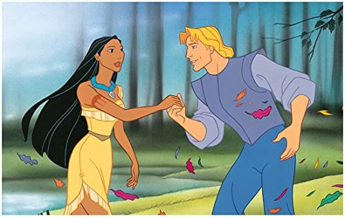 Irene Bedard is Pocahontas Animated with John Smith 8 x 10 Inch Photo at  Amazon's Entertainment Collectibles Store