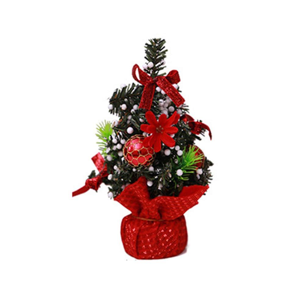 Amazon.com: callm Christmas Tree,20cm Christmas Tree Merry Christmas ...