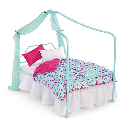 American Girl Truly Me Canopy Bed for 18'' Dolls by American Girl