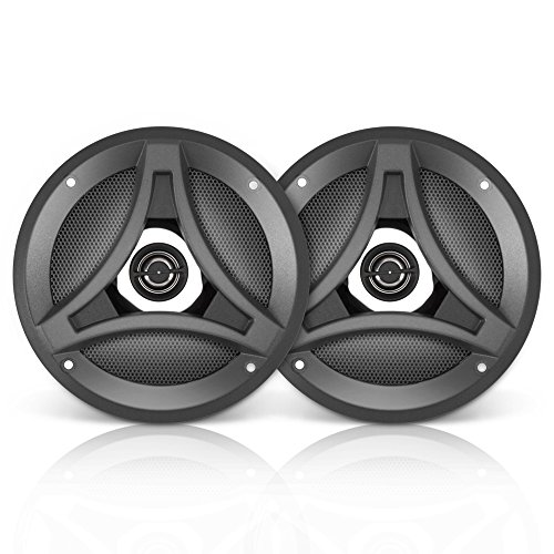 (Lanzar DCT5.2 Distinct Series 5.25-Inch 160-Watt 2-Way Coaxial Speaker, Set of 2)