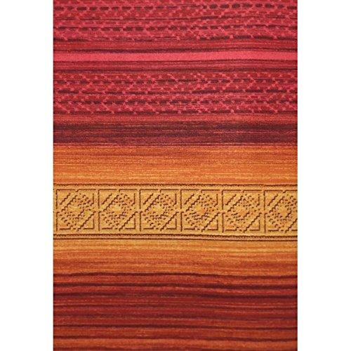 2 plazas color granate colcha para la cama o el sof/á Manta multiusos de estilo inca