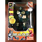 M.A.R.S. Electronic Motorized Walking Cyber-bot [Polar Captain, XXS, Freezy Frost, Red Revo - Each sold separately] Colors May Vary