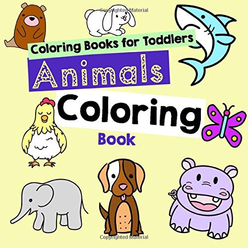 - Coloring Books For Toddlers: Animals Coloring Book Kids: Hansen, Vit:  9781549937026: Amazon.com: Books
