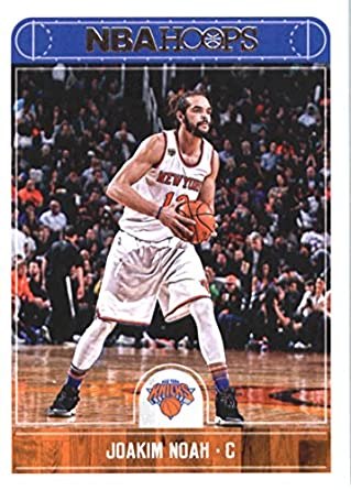 2017-18 NBA Hoops  101 Joakim Noah New York Knicks Official Basketball Card  made 9210e1a38