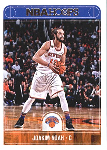 2017-18 NBA Hoops #101 Joakim Noah New York Knicks Official Basketball Card made by Panini ()