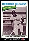 1977 Topps # 433 Turn Back The Clock Nate Colbert San Diego Padres (Baseball Card) Dean's Cards 8 - NM/MT Padres