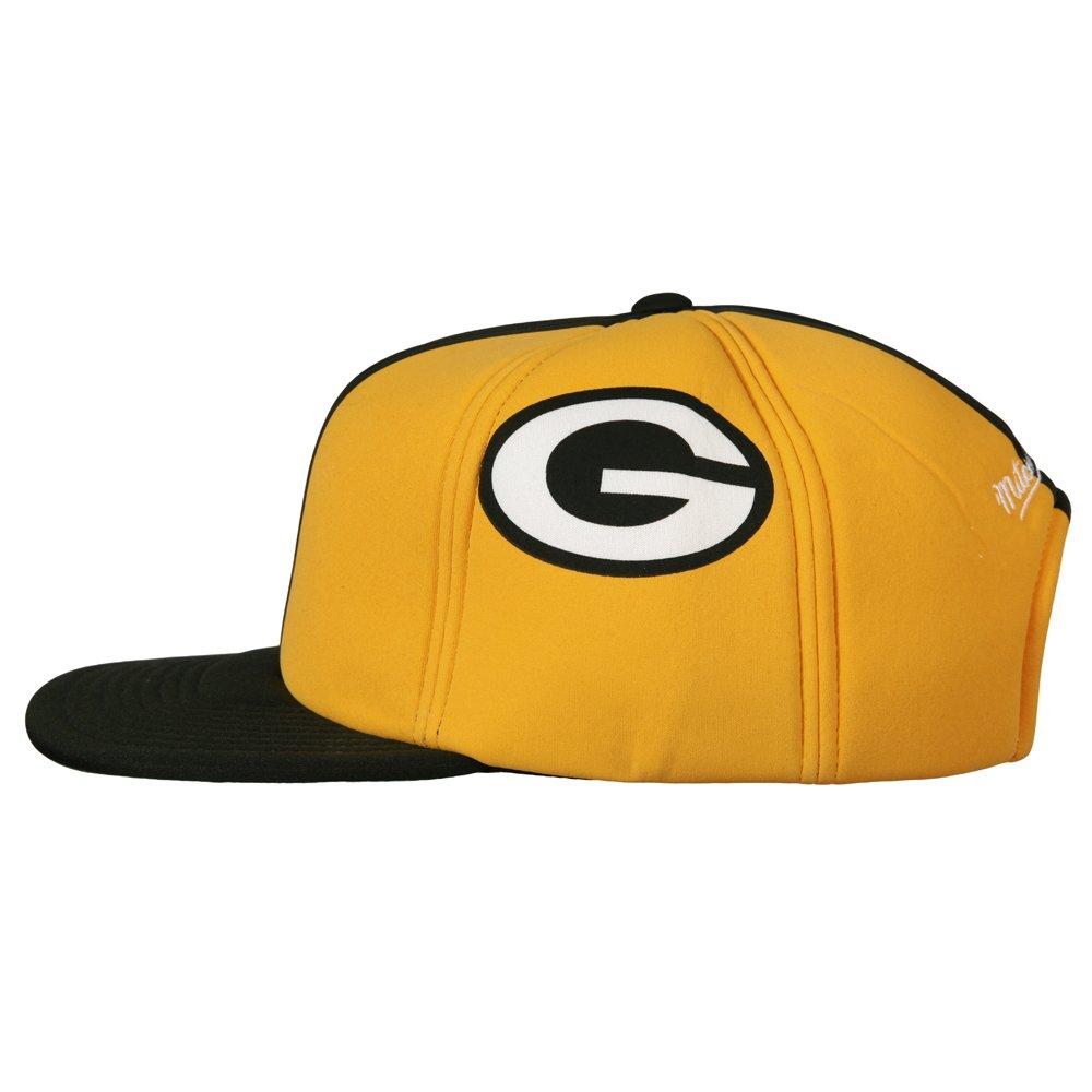 7b1319b1a4dc6 Amazon.com  Green Bay Packers Foam Helmet Adjustable Snapback Hat   Cap   Sports   Outdoors