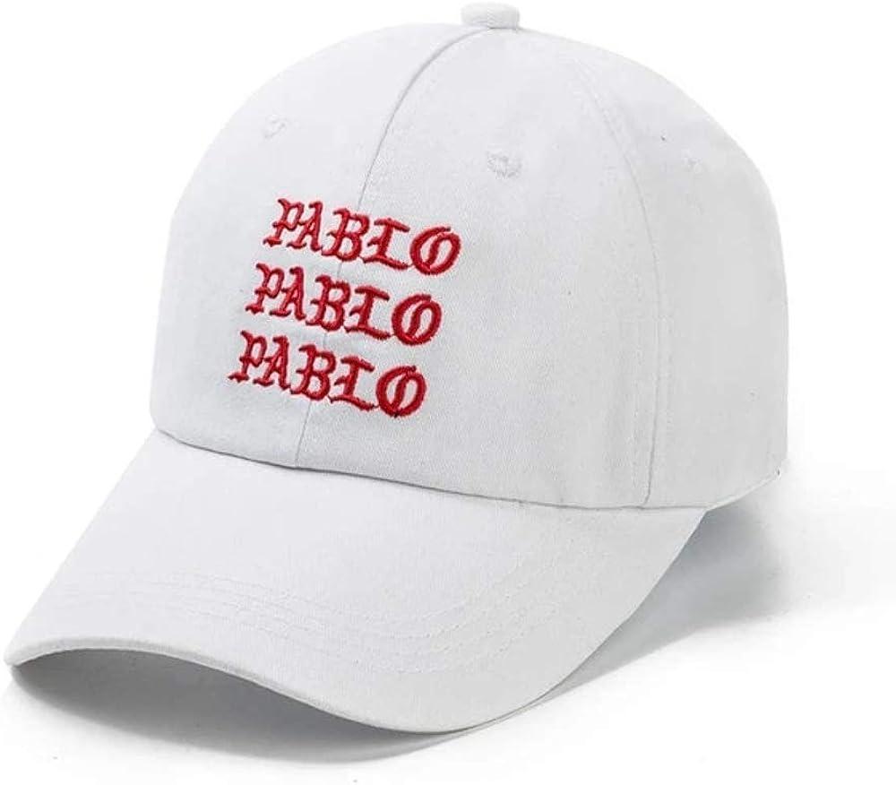CityCaps.Co Pablo Kanye West Dad Hat Wine Red