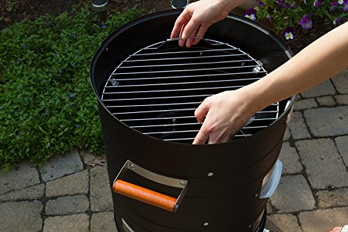MECO 5031 Charcoal Combo Water Smoker by MECO (Image #5)