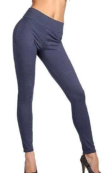 Generic Women s Stylish Gym Leggings High Waist Zipper Workout Yoga Pants  ... c913e8ccd
