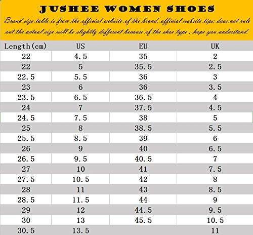 Jushee Kniehohe Stiefel Frauen Runde Zehe Oberschenkel Hohe