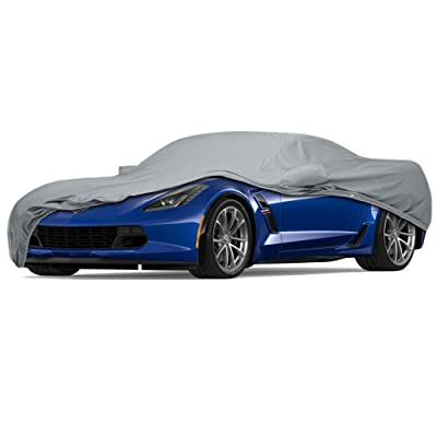 USCarCover 5 Layer Waterproof Custom Cover Chevy Corvette C4: Automotive