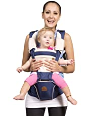 Bebamour Designer Baby Carrier and Baby Sling Carrier 2 in 1 Dark blue