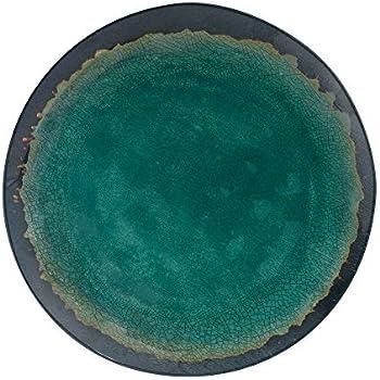 Merritt Natural Elements 11-inch Melamine Dinner Plate Turquoise  sc 1 st  Amazon.com & Amazon.com | Merritt Natural Elements 11-inch Melamine Dinner Plate ...