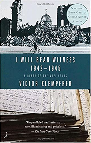 I Will Bear Witness Volume 2 A Diary of the Nazi Years 19421945