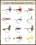 FlyDeal Fishing Flies Top Selling Flies - Guide's TOP Assortment - DRY FLIES (36 flies)