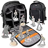 DURAGADGET Deluxe Storage Bag / Carrying Holder Backpack For Disney Infinity Star Wars Character Figures