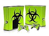 CSBC Skins Xbox 360 Slim Design Foils Faceplate Set - Biohazard Design