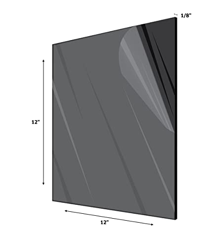 Amazon.com : AdirOffice Acrylic Plexiglass Sheet - Durable, Water ...