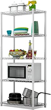 Microwave Stand Kitchen Storage Multi Function Racks Oven ...