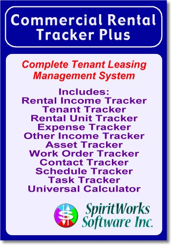 Commercial Rental Tracker Plus [Download] by SpiritWorks Software Inc.
