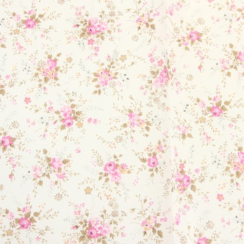 decopatch paper number 570 white background with floral design