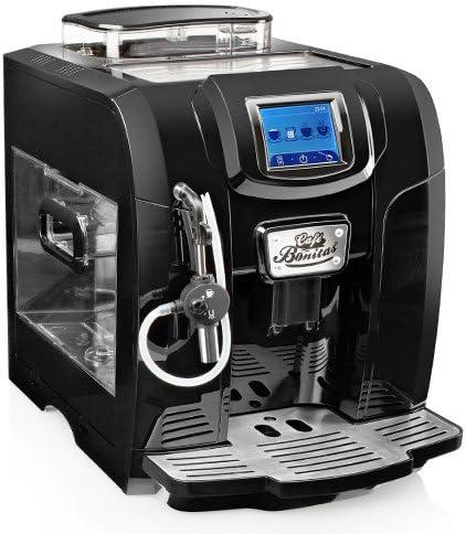 CAFE BONITAS RetroStar - Cafetera automática (pantalla táctil y ...
