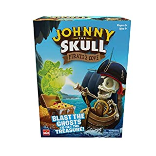 Johnny The Skull Pirate's Cove - Blast The Ghosts to Get The Treasure Game by Goliath