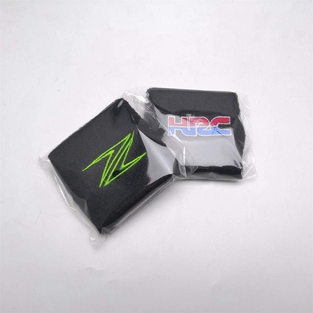 Color : Ivory Moto olio freno Reservoir calzini for Kawasaki Z1000 Z1000SX Z900 Z800 Z750 Z650 universale cotone Reservoir Sock