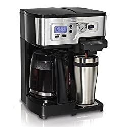 Hamilton Beach 2-Way FlexBrew 1-12 Cup K-Cup Coffeemaker (Certified Refurbished) from Hamilton Beach