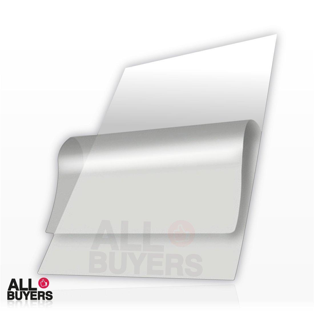 Carta ADESIVA A3 TRASPARENTE LUCIDA per stampanti laser fogli PVC VINILE (10) 2AINTIMO